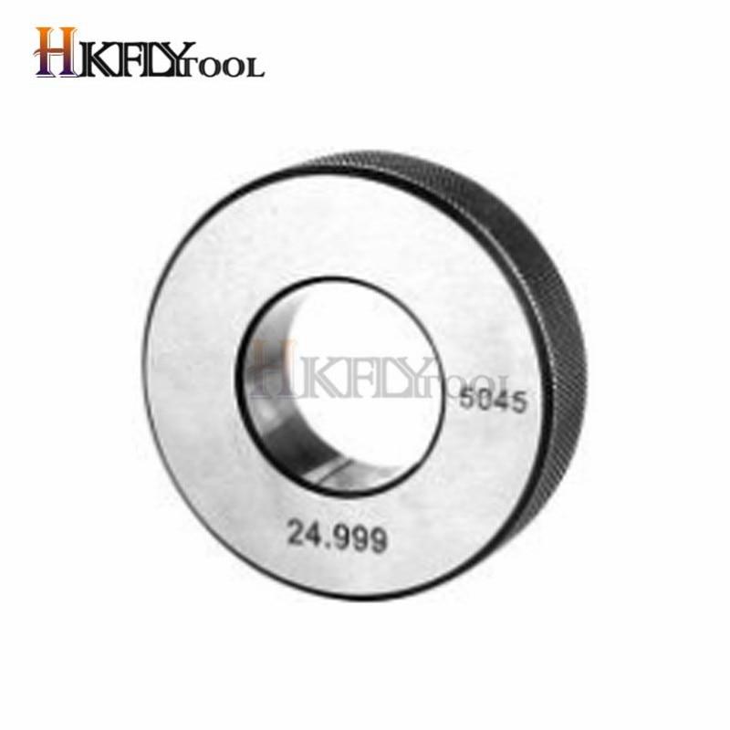 Калибровочный манометр 24,997 мм, внутренний диаметр 25 мм/0,001 мм, обычное кольцо, калибровочный датчик с гладким отверстием, измерительные инст...