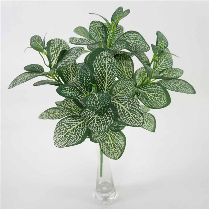 1Pcs Artificial Plants Simulation Green Grass Fake Plant Decorate Flowers For Wedding Home Garden Plastic Plant Artificial Grass