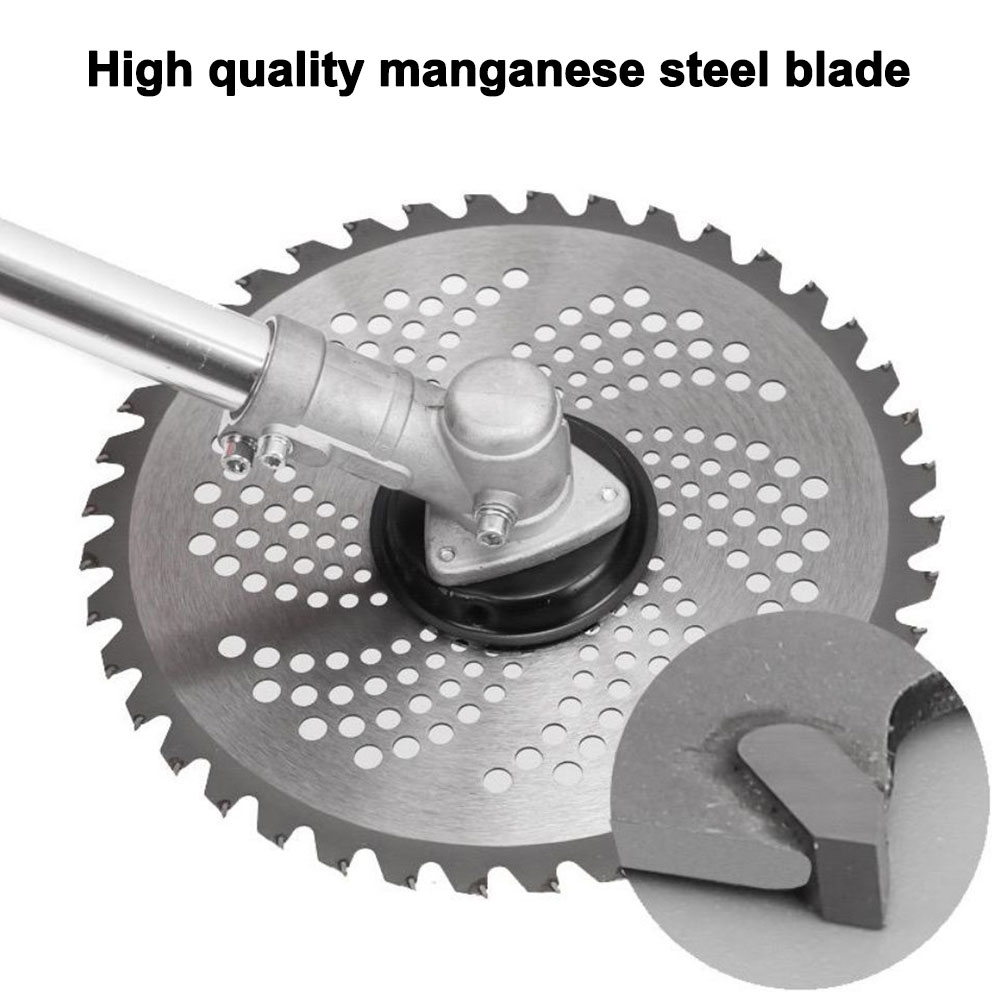10 Polegada cortador de grama lâmina 80t 60t 40t cortador de grama de carboneto cortador de grama cabeça cortador de escova ervas daninhas lâmina faca jardim ferramentas