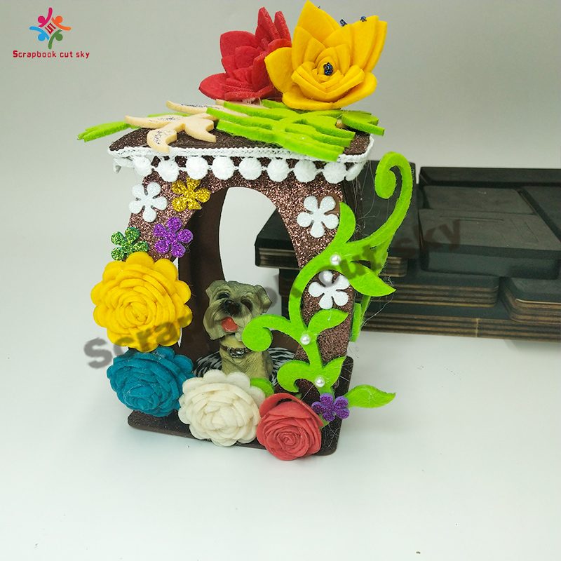 Lantern Cutting mold scrapbook cutting sky and steel wood mold compatible with most machines