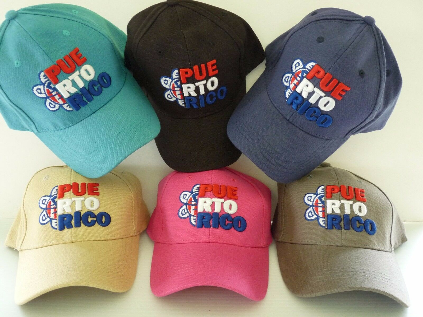 Printed PUERTO RICO SUN TAINO FLAG ADULT   BASEBALL     CAP   HAT 1 size ADJUSTABLE
