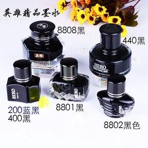 Image 2 - Darmowa wysyłka Hero non carbon Ink artykuły biurowe i szkolne pióro wieczne akcesoria standardowy atrament
