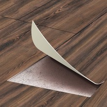 PVC Wood Grain Floor Stciker Decal SelfAdhesive Home Decoration 20*300cm Floor Sticker Home Improvement Non Slip Wall Stickers