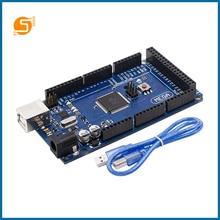 S ROBOT Arduino Mega 2560 R3 ATmega2560-16AU Board +USB Cable Compatible Module EC14