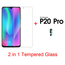 2 in 1 Ultra Thin Screen Film For Huawei V30 Pro Camera Lens Film For Huawei P20 Pro P20 lite P Smart Plus 2019 Honor 20 10 lite(China)