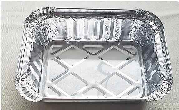 50pcs/lot BBQ Aluminum Foil Grease Drip Pans Recyclable Grill Catch Tray Weber Outdoor For Indirect Cooking