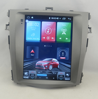 10.4 tesla style vertical screen Octa core Android 10 Car stereo GPS navigation for Toyota Corolla 2006 2013 automatic A/C