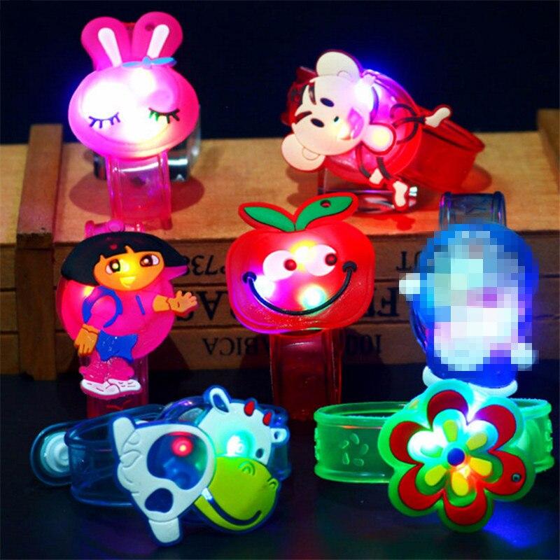 Novelty & Gag Toys Luminous Bracelet Creative Children's LED Watch Flash Wrist Luminous Toys Kids Gifts/Baby for Children/Kids