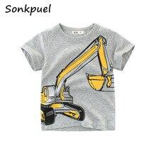 Children's Short T-Shirt Children for Boys Girls Kids Kid's Shirts Child Baby Baby