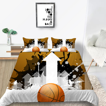 King Size Bedding Set Basketball Fashionable Creat