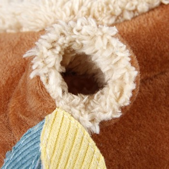 Plush Stump Hamster Tunnel Hammock Hanging Nest Soft House Bed Cage For Mini Animal Small Pet Mice Rat Nest Bed 5