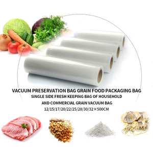5 м кухонный вакуумный упаковщик для пищевых продуктов в рулоне для сохранения свежести и длительного хранения в микроволновой печи и мороз...