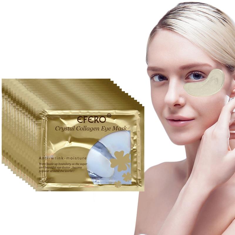 Collagen Crystal Eye Mask Gel Mask Eye Patches For Eye Bags Wrinkles Dark Circles Whitening Lasting