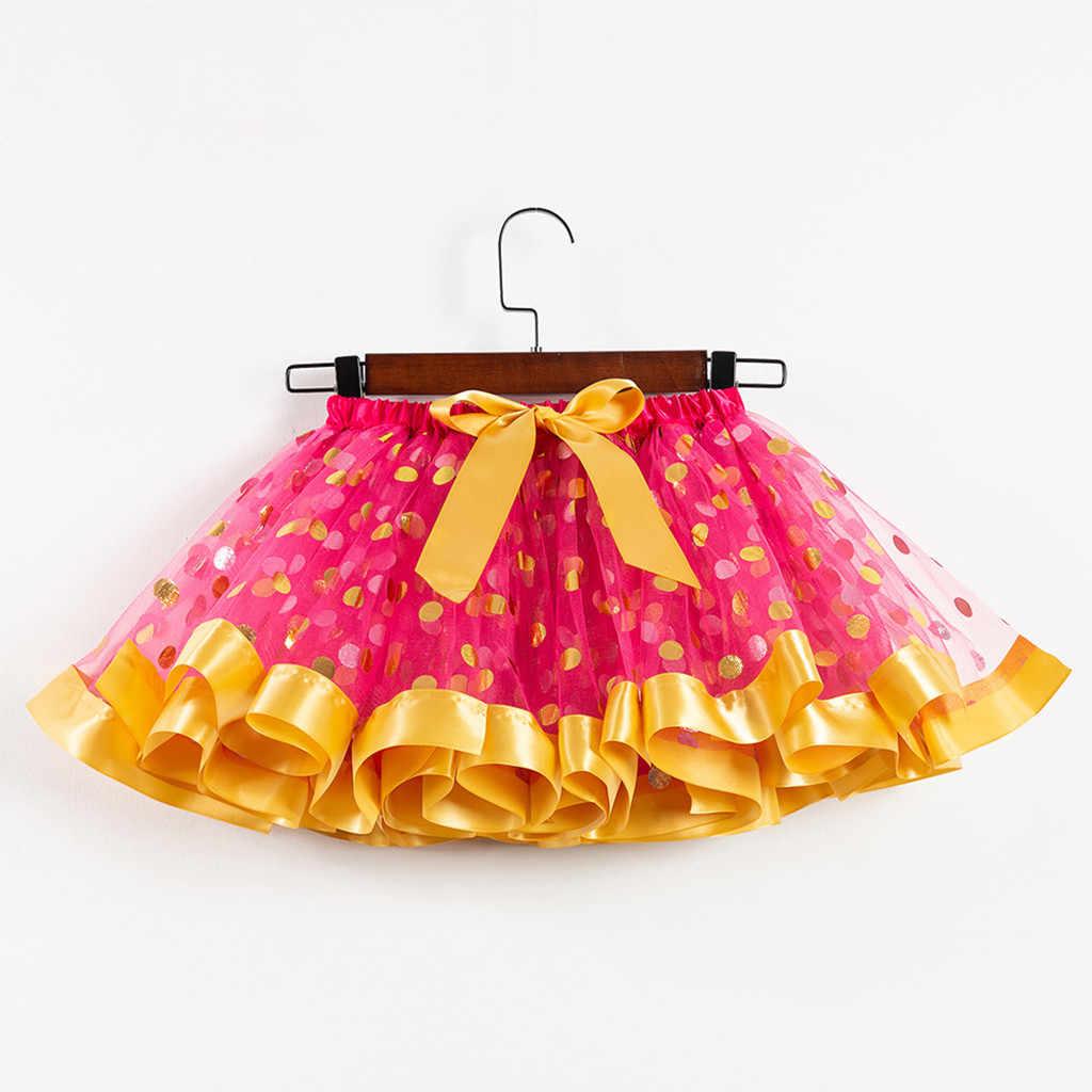 Детские юбки; Детские вечерние юбки-пачки для девочек; Танцевальная балетная юбка; Костюм для малышей; Одежда в горошек для девочек; Юбки; Одежда