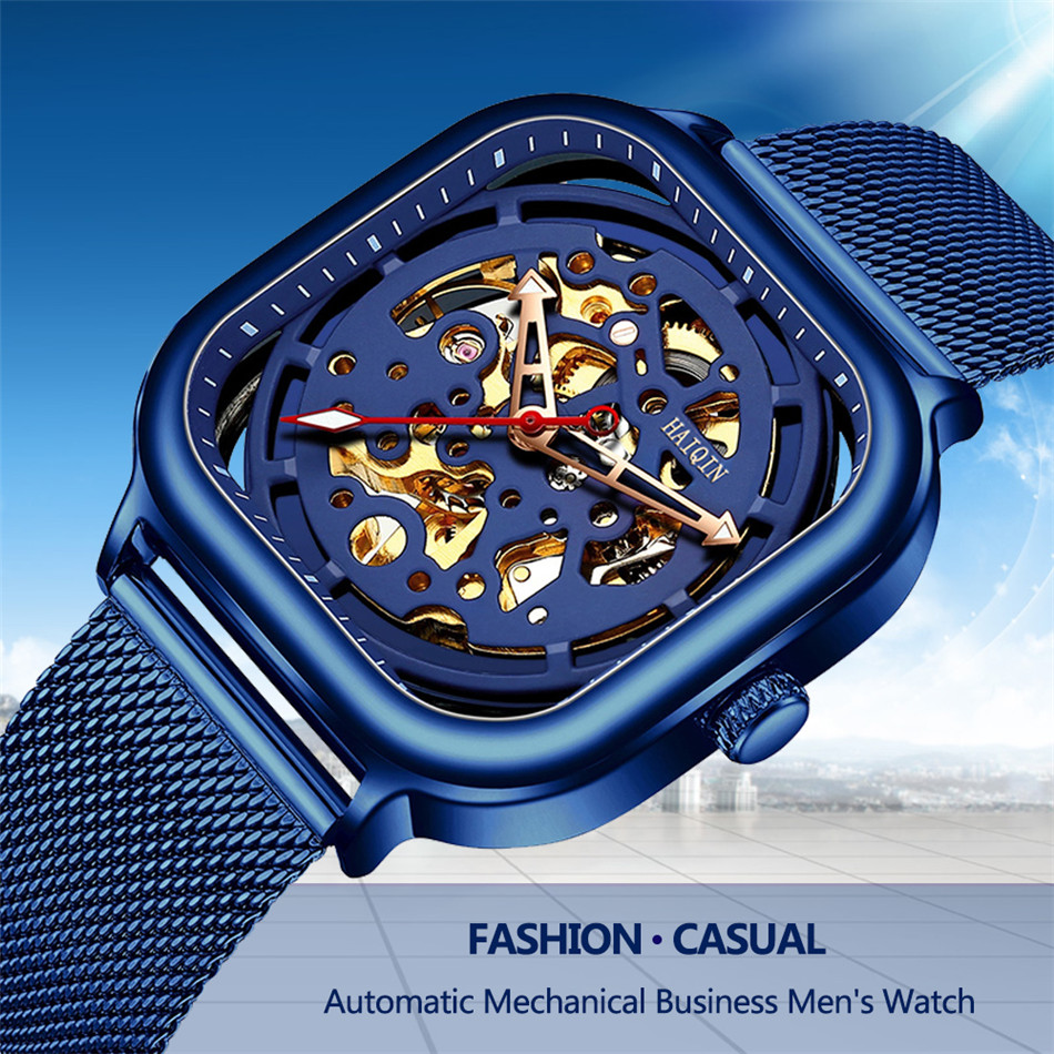 marca de luxo homens relógio de ouro