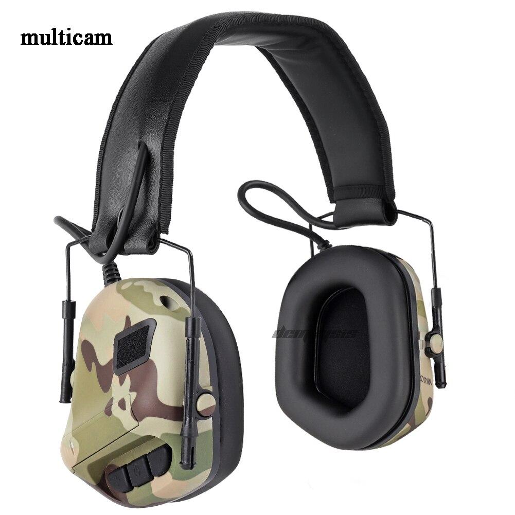 militar airsoft fone de ouvido