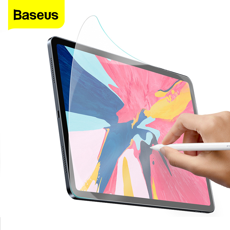 Baseus Paper Like Screen Protector For IPad Pro 2018 12.9 11 10.5 9.7 7.9 Inch Matte Anti Glare Portect Film For IPad 2019 10.2