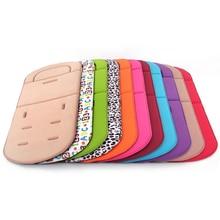 Baby Stroller Rainbow-Seat Cushion-Pad Seat-Mat Cart Child Soft En for 0-3Y Four-Seasons