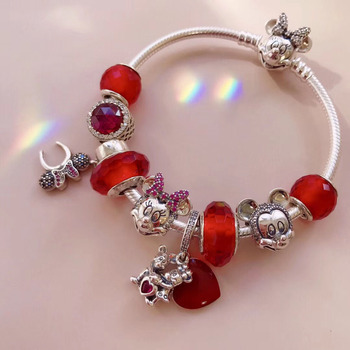 High Quality Reproduction 1:1 100%925 Pure Silver Beads Beads Beads Bracelet Free Shipping
