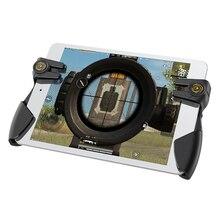 נייד PUBG משחק בקר עבור Ipad Tablet שש אצבע משחק ג ויסטיק ידית המטרה כפתור L1R1 Shooter Gamepad הדק