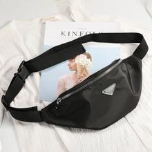 Women designer Waist Bag Ladies new fashion Fanny Pack travel Money Phone Chest Banana Bag Female Bum Belt Bags handbag purse tanie tanio RAVIDINO Polyester 95cm Pillow 30cm Waist Packs