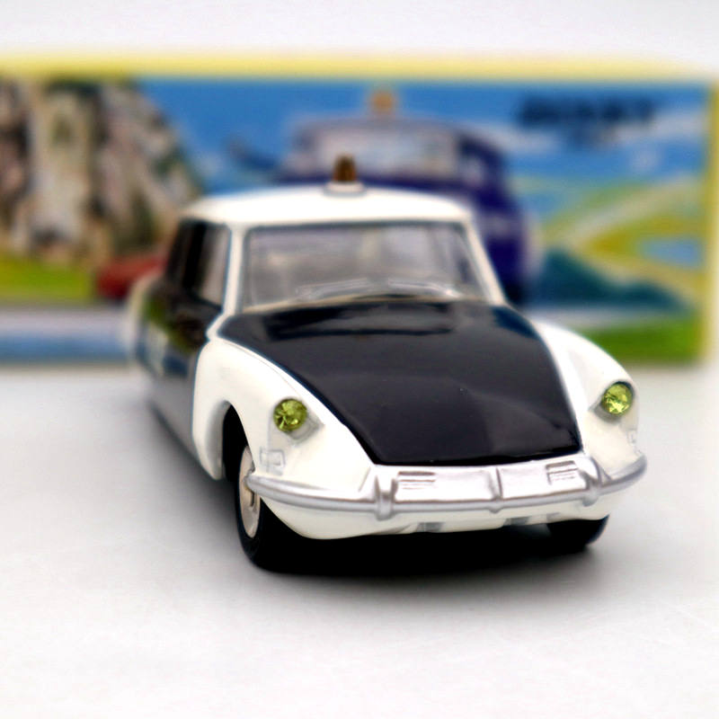 Image 3 - Atlas 1/43 Dinky Toys 501 Citroen DS 19 Police Models Diecast Collection Auto Car Gift MiniatureDiecasts & Toy Vehicles   -