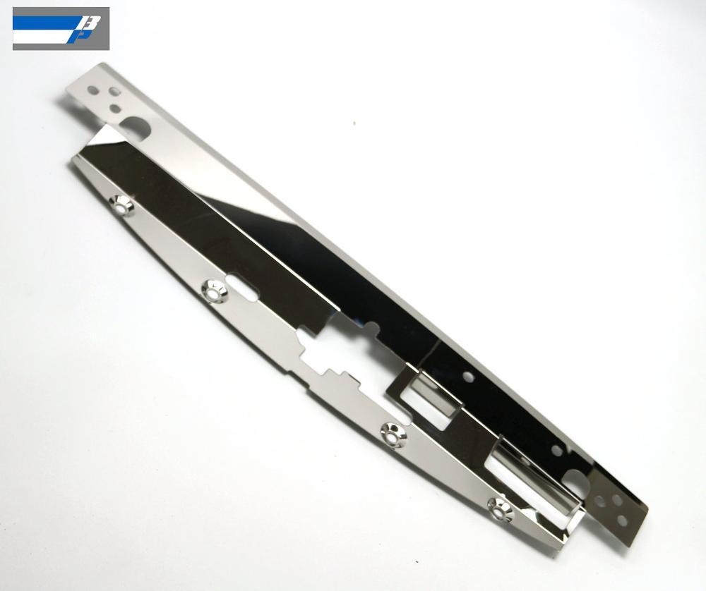 placa de cobertura do painel de refrigeracao do radiador mortalha de refrigeracao do radiador para mitsubishi