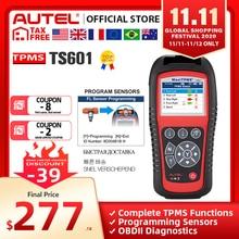 AUTEL MaxiTPMS TS601 TPMS سيارة التشخيص أداة OBD2 ماسحة السيارات المنشط إصلاح الإطارات أدوات الاستشعار البرمجة قانون القارئ