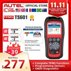 Image 1 - AUTEL MaxiTPMS TS601 TPMS 車診断ツール OBD2 スキャナ自動車活性化剤タイヤ修理ツールセンサープログラミングコードリーダー