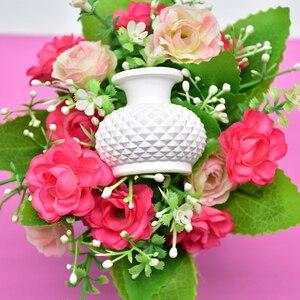 3D Pot Vase Silicone Mold Fond