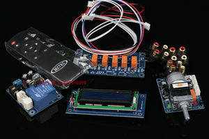 Image 1 - Assembeld Motore Preamplificatore Scheda di Controllo di Volume A Distanza + Display + PSU + Interruttore di Ingresso