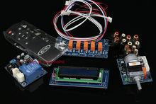 Assembeldモータープリアンプリモートボリュームコントロールボード + ディスプレイ + psu + 入力スイッチ