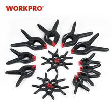 WORKPRO Heavy Duty Spring Clamps Plastic Clamp Set for WoodWorking DIY Tools 20PCS/lot