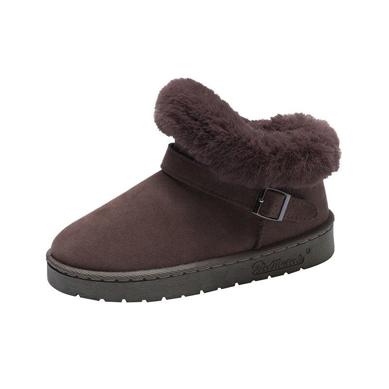 Купить зимние ботинки mudibear женская зимняя одежда модные бархатные