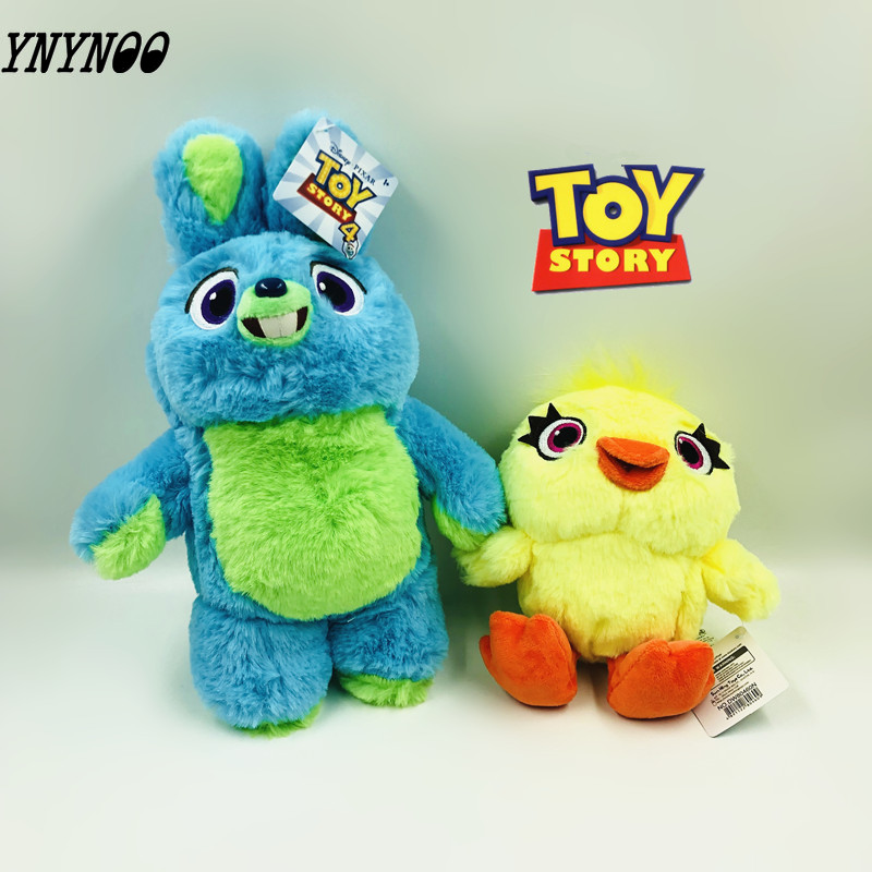 18cm /30cm Toy Story 4 Toys Bunny Ducky Forky <font><b>Alien</b></font> Anime Toys Soft Stuffed Plush Toys Animal Doll Children's Birthday Gift image