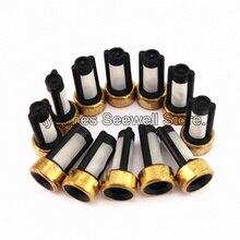 500 pezzi iniettore carburante filtro ASNU03C 11001 formato 12*6*3mm auto pezzi di ricambio microfiltro misura per bosch iniettore di riparazione (AY F101)