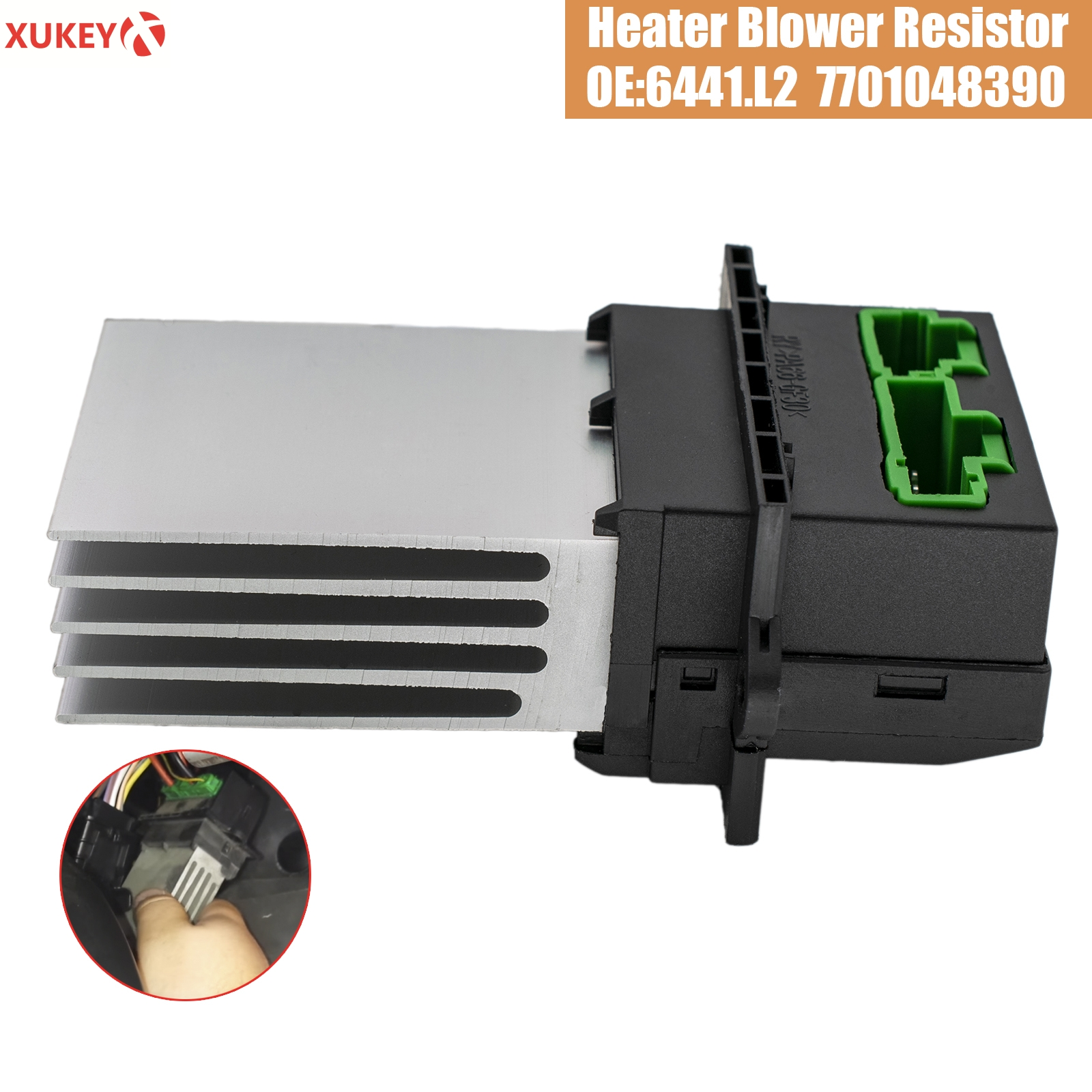 Air Conditioning Blower Resistor For Citroen Renault Megane Scenic Peugeot Nissan Tiida 6441.L2 7701207718 7701048390 Auto Parts
