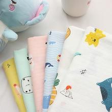 Double Extra Soft Gauze Baby Cartoon Costume Bath Towel Blanket That Saliva Cotton Cloth Diapers Encryption