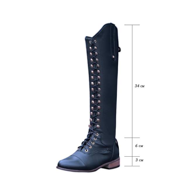 Womens Equestrian Riding Boots 2