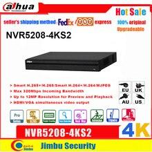 Dahua NVR version anglaise 4K NVR5208 4KS2 8 canaux enregistreur vidéo réseau H265 /H264 multi langue 8CH DVR