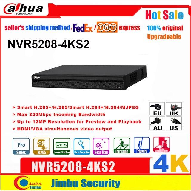 大華nvr英語版4 18k NVR5208 4KS2 8チャンネルネットワークビデオレコーダーH265 /H264多言語8CH dvr