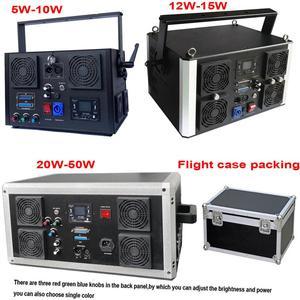 Image 5 - DMX + ILDA + SD + 2D + 3D многоцветный 3 Вт rgb лазерный светильник/dj светильник s/сценический светильник/лазерный проектор