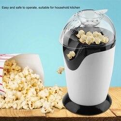 Elektryczna kukurydza maszyna do robienia popcornu Diy gospodarstwa domowego automatyczne Mini na gorące powietrze robienia popcornu robot kuchenny Diy kukurydzy Popper ue wtyczka w Maszynka do popcornu od AGD na