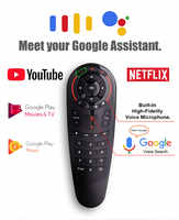 G30S air mouse with gyroscope Rechargeable G30 Wireless remote control for Android TV Box Computer vs g20s G20 G10