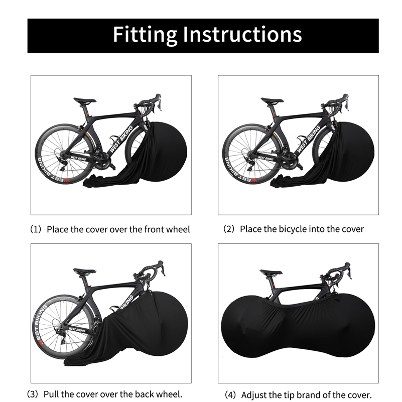 Universal Bicycle Bike Wheel Cover Bags Tyre Tire Dust Cover Cycling Protective