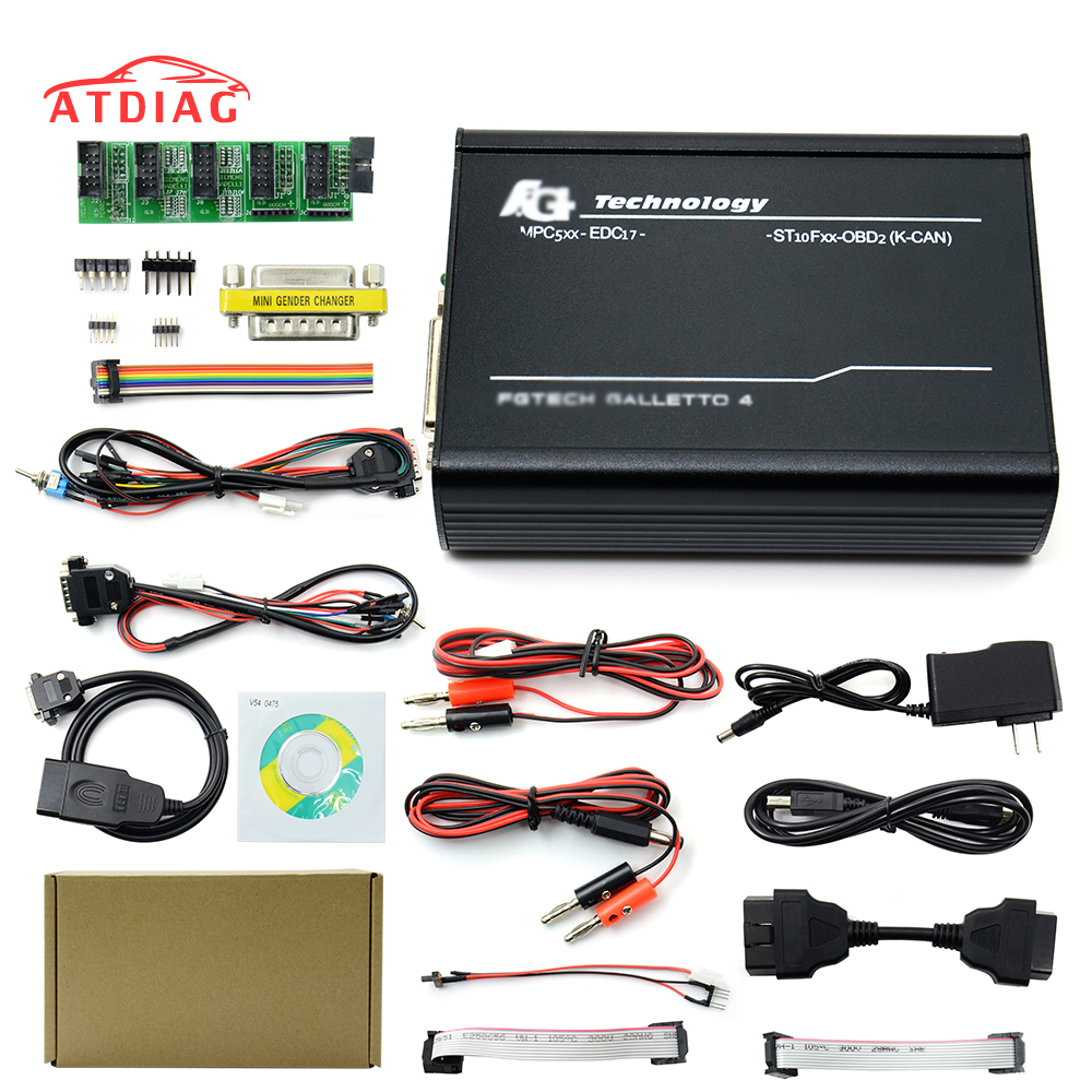 Fgtech Galletto Auto-Ecu-Chip-Tuning Full-Chip Support 4 BDM V54 U-0475 title=