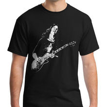Gary Moore T-shirt Skid Row Shirt Unisex Adult Tshirt Thin Lizzy rock tee Fashion T top
