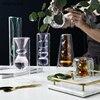 Nordic creative color glass vase flower arrangement hydroponic transparent home desktop decoration ornaments 3