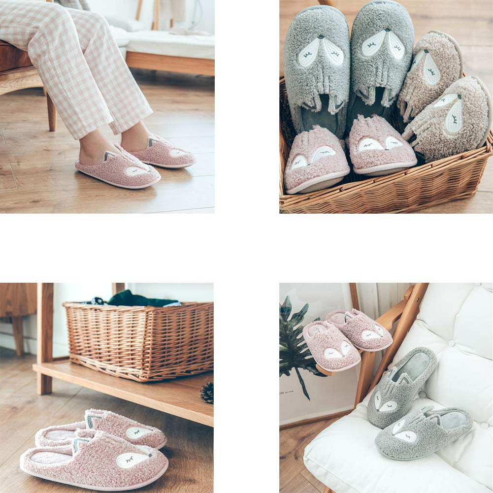 Indoor Warm Womens Unicorn Slippers