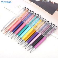 Stylus-Ball-Pen Mobile-Phone iPad Tablet Touch-Screen Capacitive Crystal for PC 500pcs/Lot